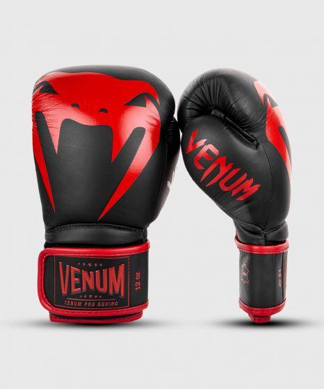 Guantoni da boxe professionali Venum Giant 2.0 – Velcro - Nero/Rosso