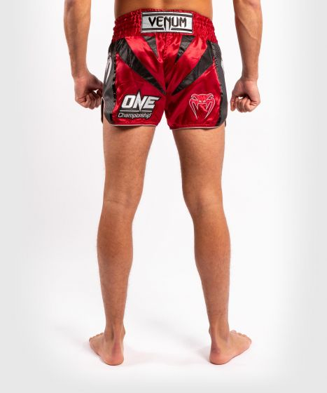 Venum x ONE FC Muay Thai Shorts - Red