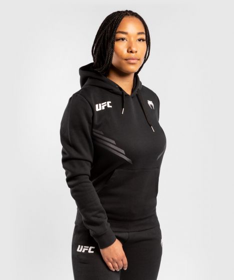 Felpa Con Cappuccio Donna UFC Venum Replica - Nero