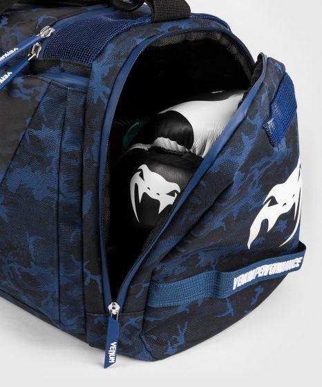 Venum Trainer Lite Evo-Sporttaschen - Blau/Weiß