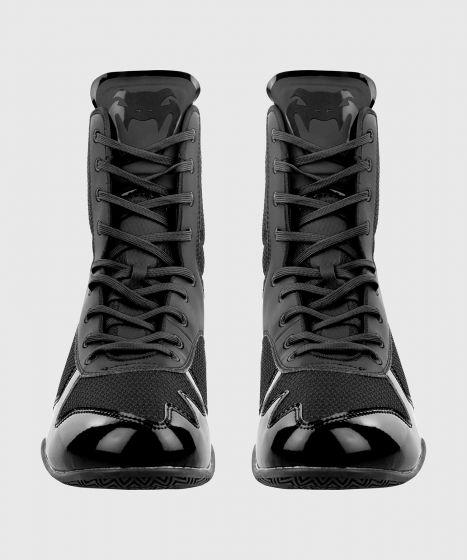 Chaussures de boxe Venum Elite - Noir/Noir