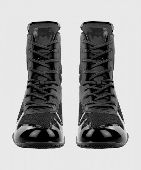 Botas de Boxeo Venum Elite - Negro/Negro