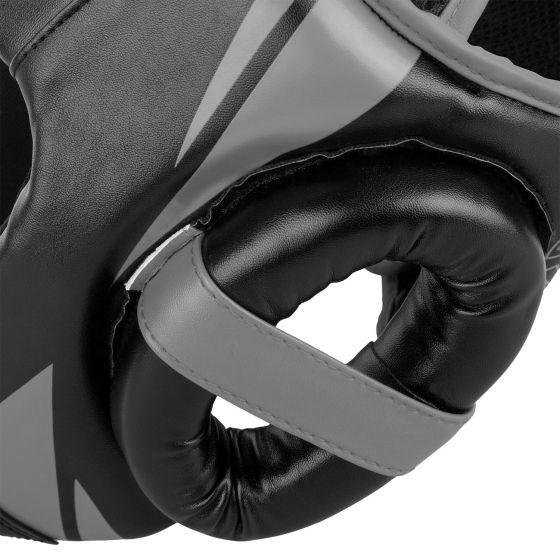 Venum Challenger Open Face Headgear - Black/Grey