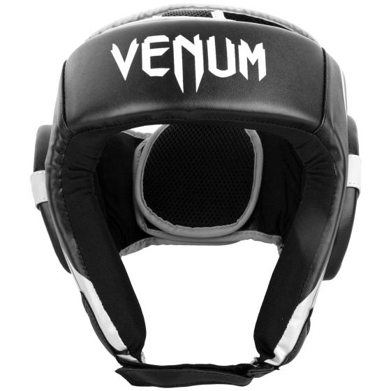 Venum Challenger Open Face Headgear - Black