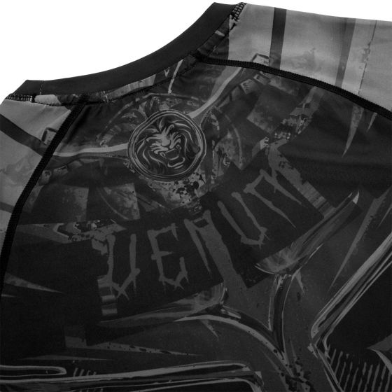 Venum Gladiator 3.0 Rashguard - Langarm - Schwarz/Schwarz