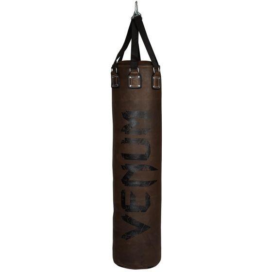 Saco de Boxeo Venum Vintage - Marrón - Lleno - Cuero de vaca