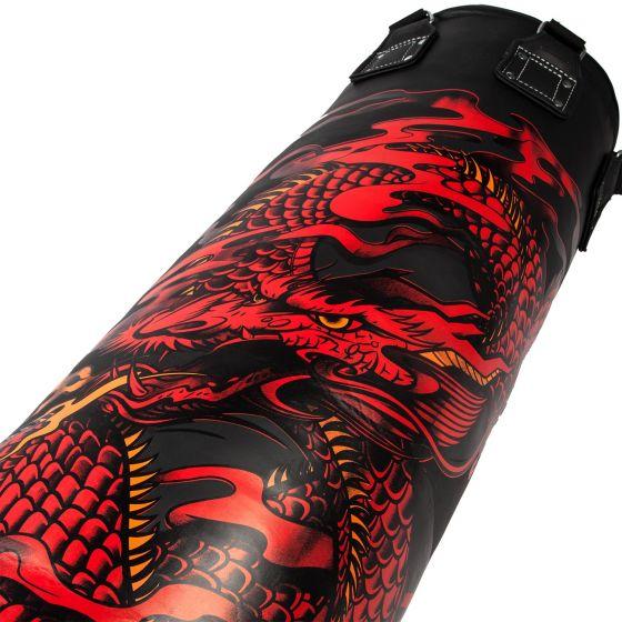Venum Dragon's Flight Heavy Bag - Black/Red - 150 cm