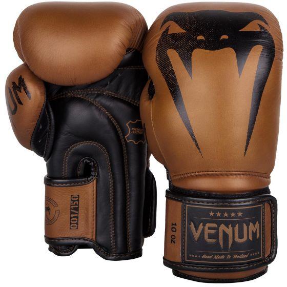 Gants de boxe Venum Giant Vintage numérotés - Cuir - Exclusivité - Marron