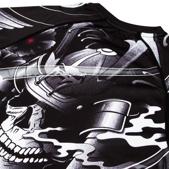 Venum Samurai Skull Rashguard - Langarm - Schwarz