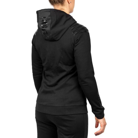 Venum Laser Hoodie - For Women - Black/Black - Exclusive