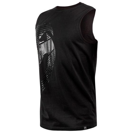 Camiseta sin Mangas Venum Plasma - Negro/Negro