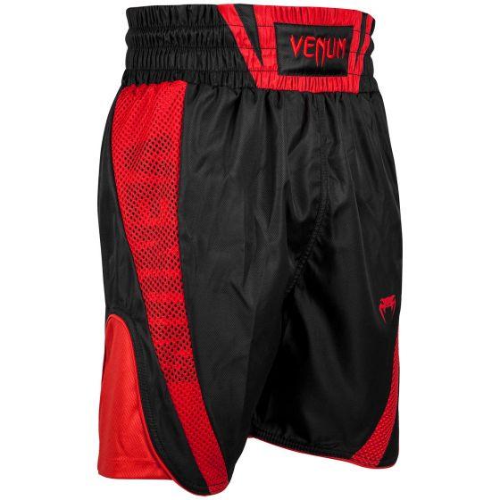 Short de Boxe Venum Elite - Noir/Rouge