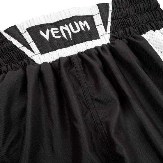 Pantaloncini da boxe Venum Elite - Neri/Bianchi
