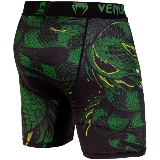 Venum Green Viper Compression Shorts - Black/Green
