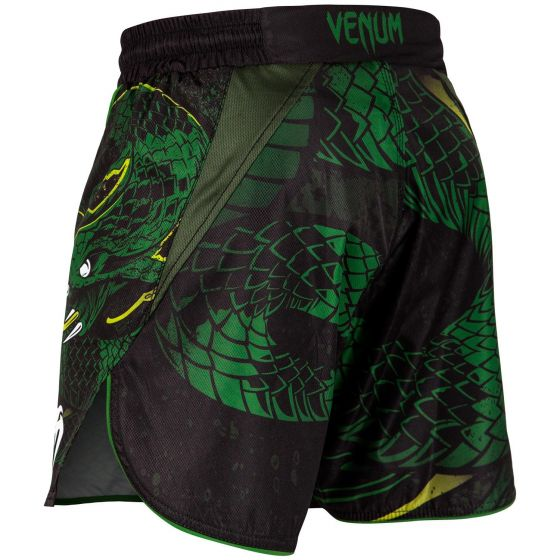 Venum Green Viper Fightshorts - Black/Green
