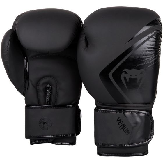 Guantes de Boxeo Venum Contender 2.0 - Negro/Negro