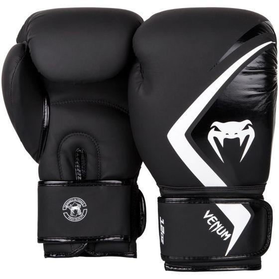 Venum Boxhandschuh Contender 2.0 - Schwarz/Grau-Weiß