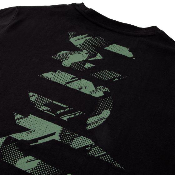 Venum Tecmo Giant T-shirt - Black/Khaki