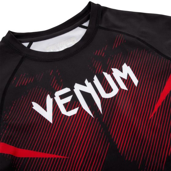 Venum NoGi 2.0 Rashguard - korte mouwen - zwart