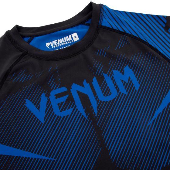 Venum NoGi 2.0 Rashguard - Short Sleeves - Black/Blue