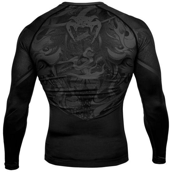 Venum Devil Rashguard - Long Sleeves - Black/Black