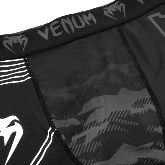 Short de compression Venum Okinawa 2.0 - Noir/Blanc