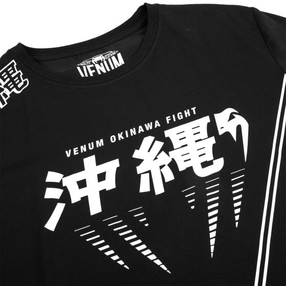 Venum Okinawa 2.0 T-shirt - Black/White