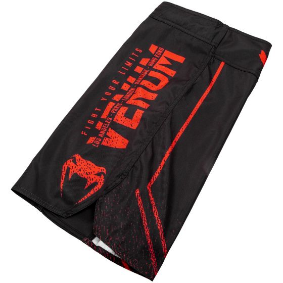 Fightshort Venum Signature - Noir/Rouge