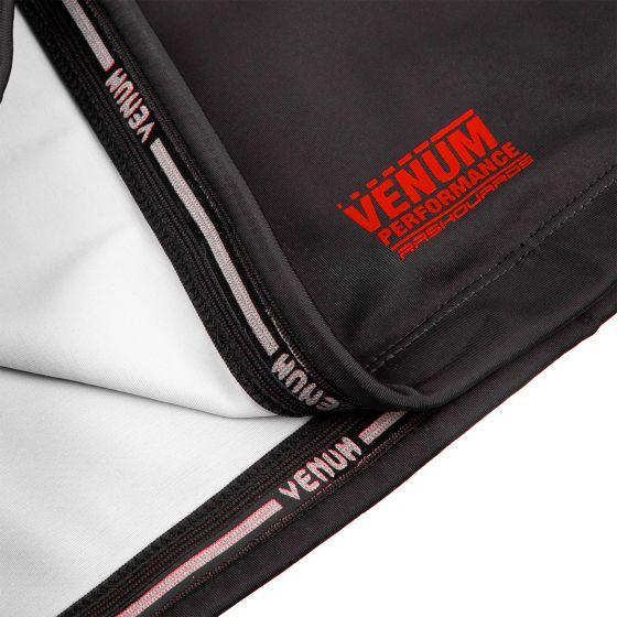 Venum Signature Rashguard - Short Sleeves - Black/Red