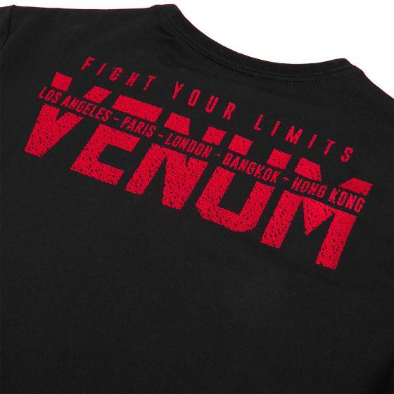 Venum Kurzarm-T-Shirt - Schwarz/Rot