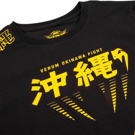 Venum Okinawa 2.0 Kids T-Shirt - Schwarz/Gelb