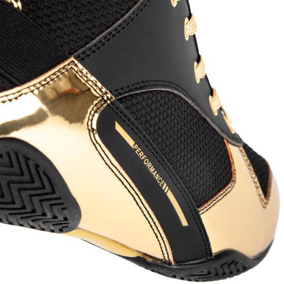 Scarpe da boxe Elite - Neri/Oro
