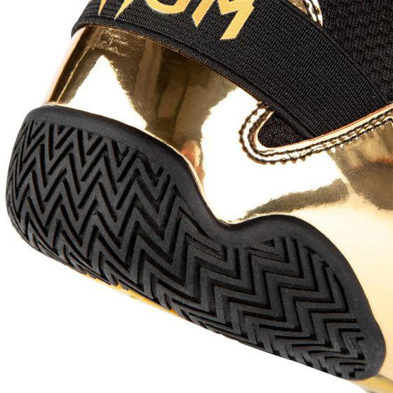 Botas de Boxeo Venum Elite - Negro/Oro