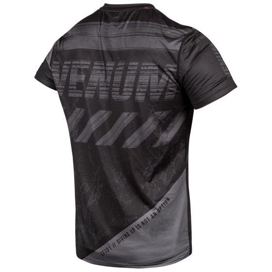 Venum AMRAP Dry Tech T-Shirt - Schwarz/Grau