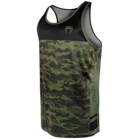 Venum Trooper Tanktop - Forest camo/zwart