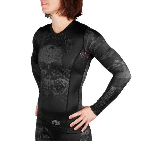 Venum Santa Muerte 3.0 Rashguard - Long Sleeves - For Women