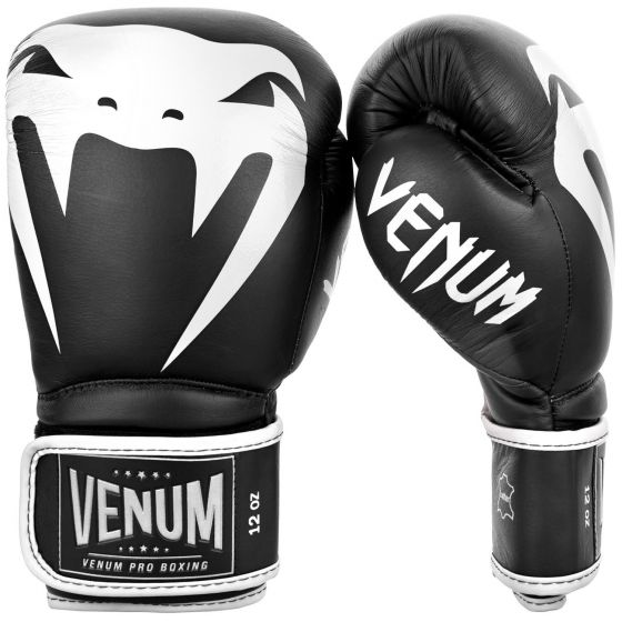 Venum Giant 2.0 Pro Boxing Gloves - Velcro - Black/White
