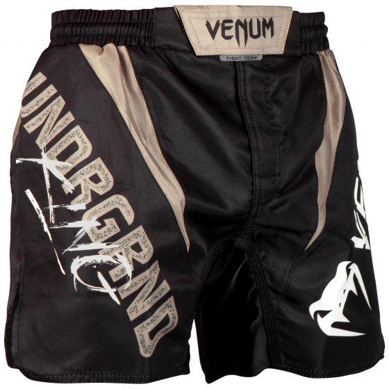 Venum Underground King Fightshorts - zwart/zand