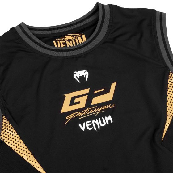 Top Dry Tech Venum Petrosyan - Schwarz/Gold