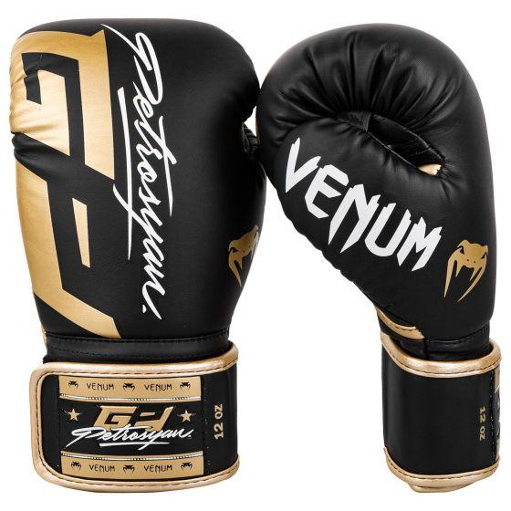 Guantes de boxeo Venum Petrosyan - Negro/dorado