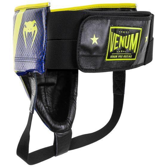 Venum Pro Beschermende cup Loma-editie - met klittenband - blauw/geel