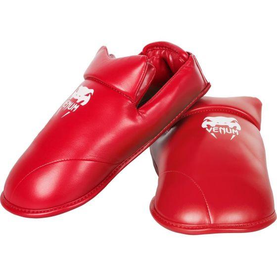 Canilleras Karate Venum  - Rojo