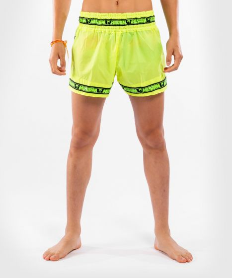 Venum Parachute Muay Thai Shorts - Fluo Yellow