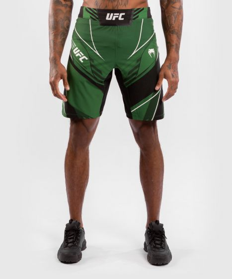 UFC Venum Authentic Fight Night Men's Shorts - Long Fit - Green