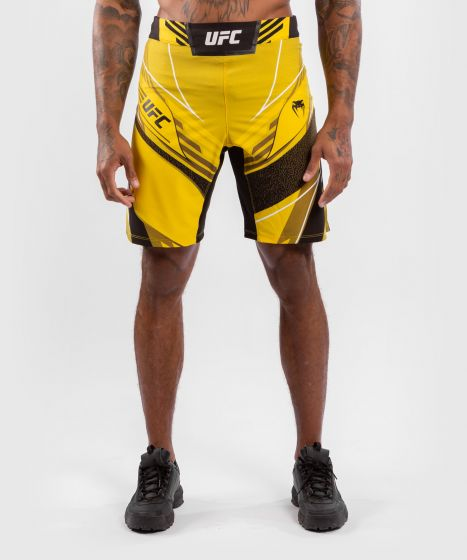 Fightshort Homme UFC Venum Authentic Fight Night - Coupe Longue - Jaune