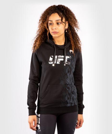 UFC Venum Authentic Fight Week Pullover Hoodie voor dames - Zwart