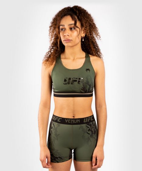 Brassière Femme UFC Venum Authentic Fight Week - Kaki