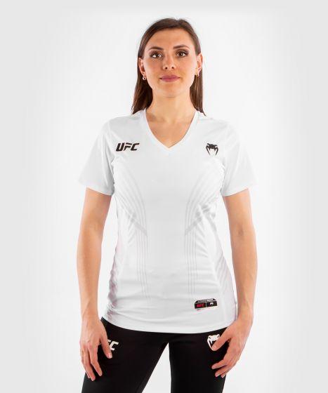 UFC Venum Authentic Fight Night Walkout Damesshirt - Wit