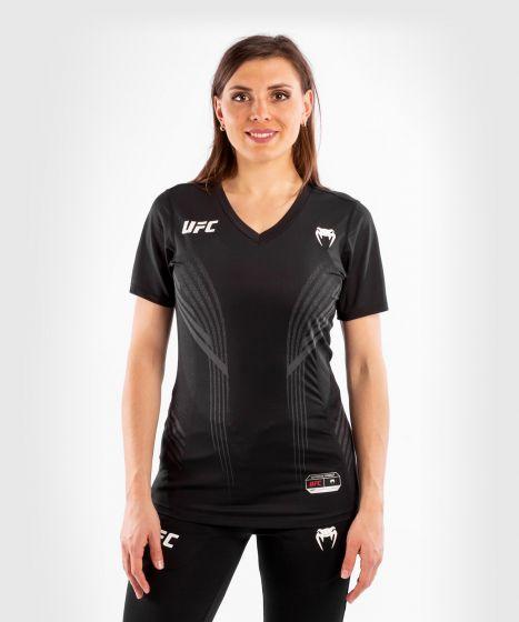 UFC Venum Authentic Fight Night Walkout Damesshirt - Zwart