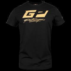 T-Shirt Venum Petrosyan - Schwarz/Gold